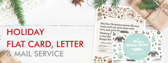 Holiday Greeting - Flat Cards and Letters