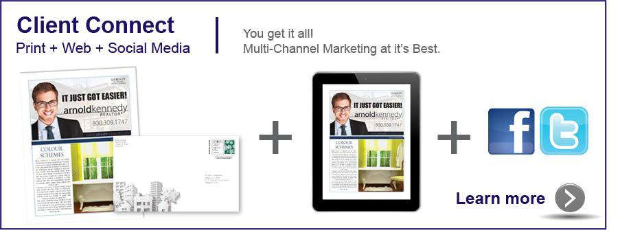 Client Connect Multi channel marketing for real estate agents