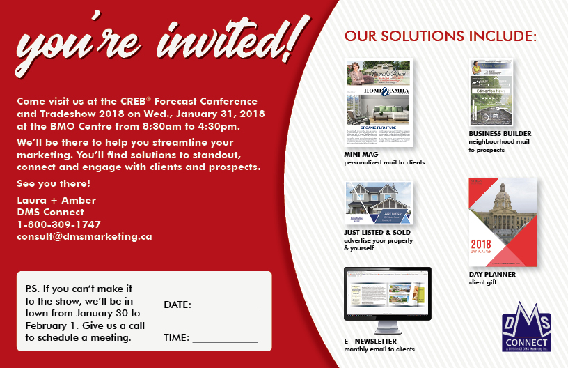 TradeShow Invitation 2018Calgary DMS Marketing